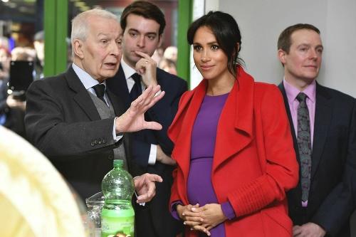 Vojvodkyni Meghan tehotenstvo pristane.