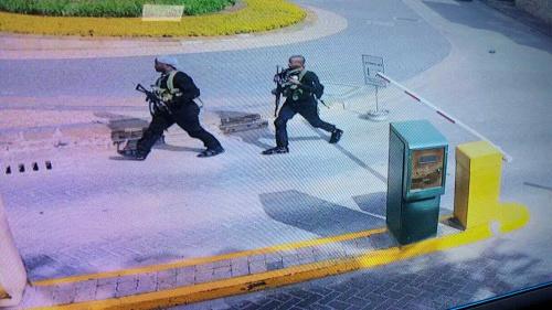 VIDEO Útok na hotel