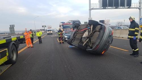 Nehoda na výjazde z