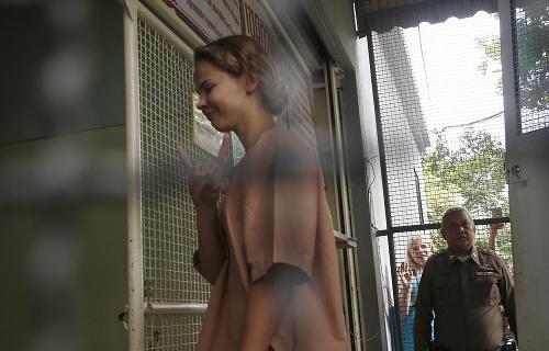 Dráma pri zatknutí modelky