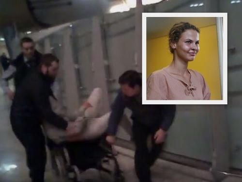 Zatknutie bieloruskej modelky
