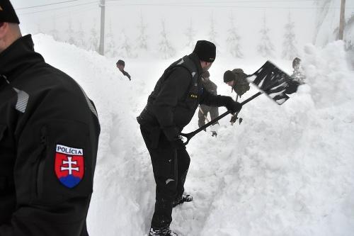 Na severe Slovenska sneh