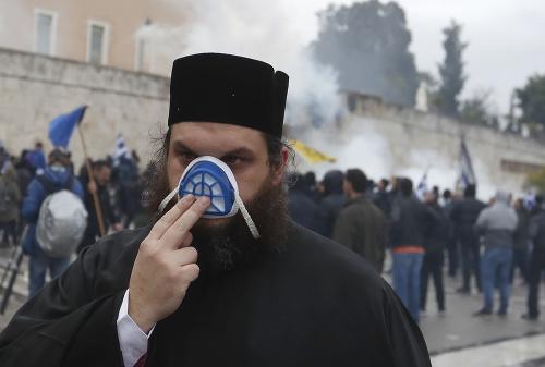 Napätie v Grécku eskaluje.