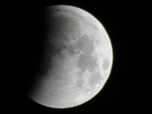 Ľubomír zachytil zatmenie mesiaca