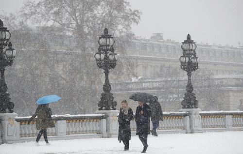 Francúzsko sužuje nepríjemné počasie