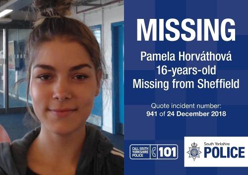 Pamela Horváthová (16) je