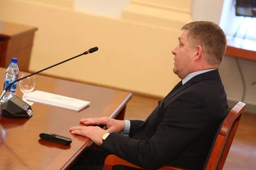 Robert Fico about the interview