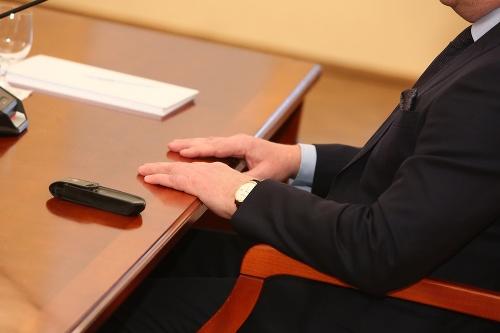 Robert Fico na vypočúvaní