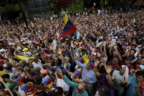 Protesty vo Venezuele