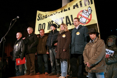 Organizátori demonštrácie z Občianskej