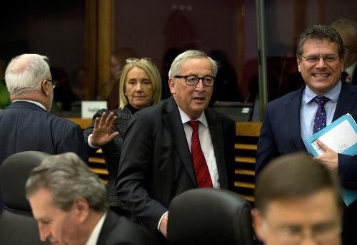 Jean-Claude Juncker a Maroš