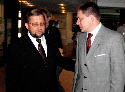 Štefan Harabin a Robert