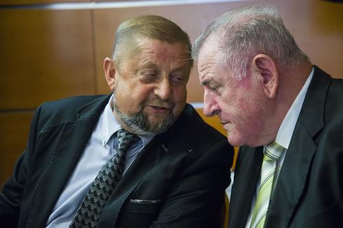 Štefan Harabin a Vladimír