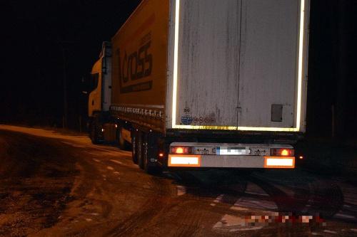 FOTO Vodič nákladiaka prekročil