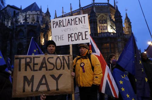 FOTO Brexit bez dohody