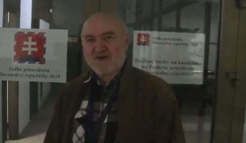 Ján Molnár ako kandidát