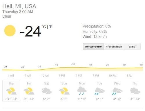 V USA je mrazivejšie