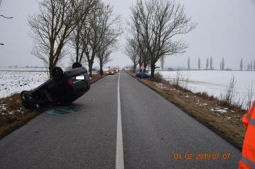 Pri nehode v okrese