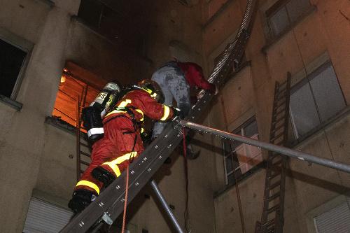 Tragický požiar budovy v