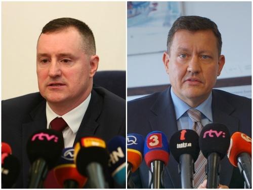 Peter Šufliarsky a Daniel