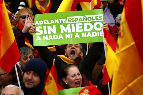 Protesty v Španielsku