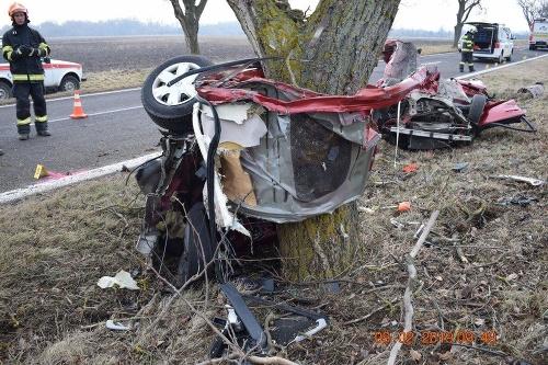 Nehoda pri Želiezovciach si
