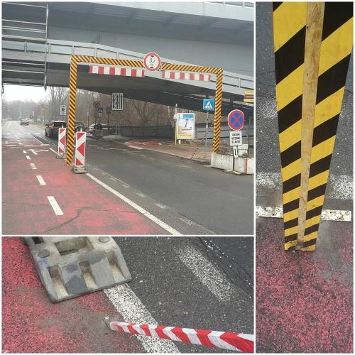 Cyklotrasa pri Moste SNP.