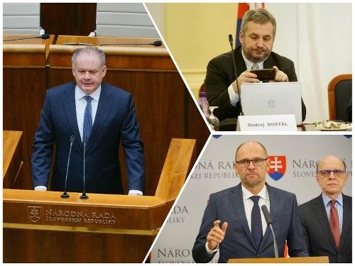 Andrej Kiska, Ondrej Dostál