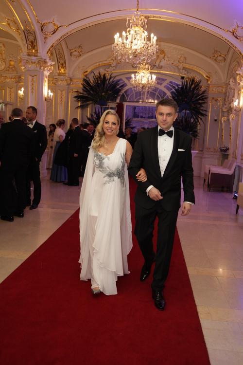Branislav Záhradník s manželkou