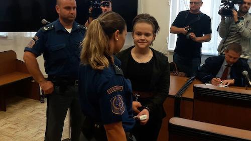 Simona Macháčová na súdnom
