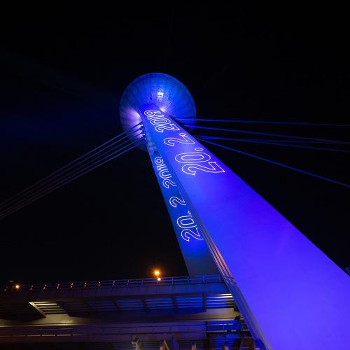 Bratislavský Most SNP sa