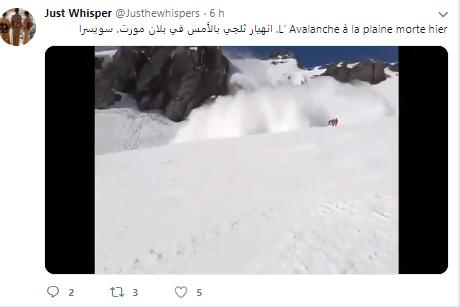 Lavína vo Švajčiarsku zabíjala.