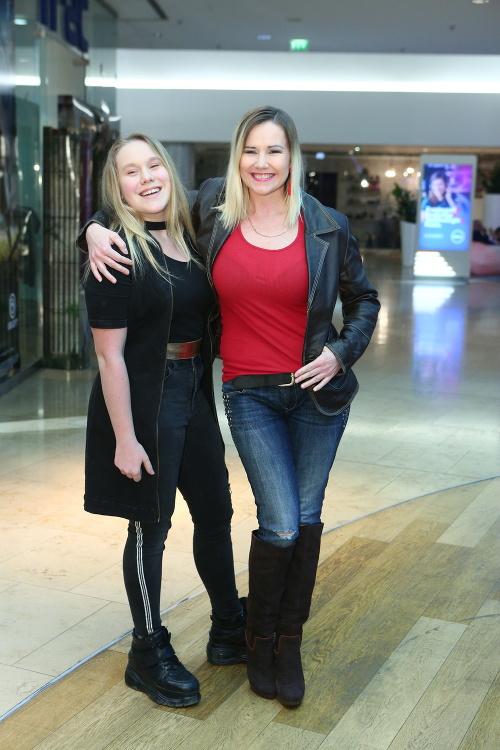 Zuzana Haasová s dcérou