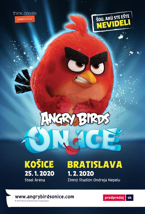 Svetová šou Angry Birds