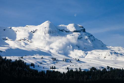 Lavíny v Tirolsku si