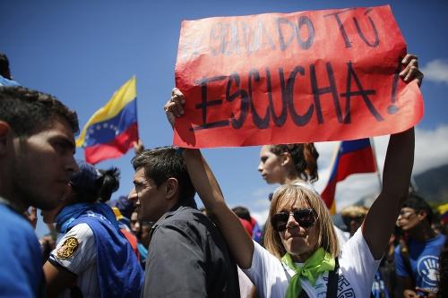 VIDEO Venezuela sa ponorila