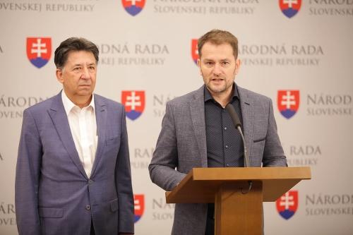 Ján Budaj a Igor