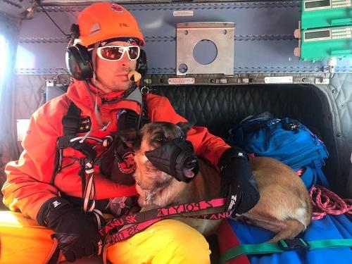 Leteckému záchrannému tímu pomáhal