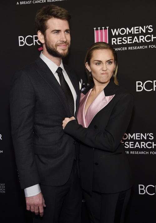Miley Cyrus s manželom