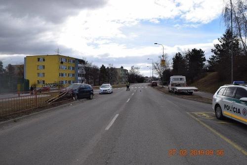 Snímky z nehody v