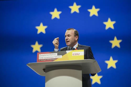 Líder európskych ľudovcov Manfred