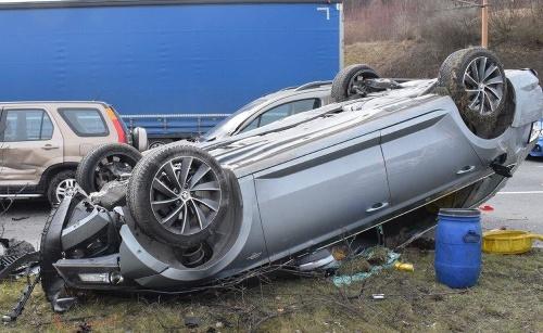 Hromadná nehoda v Žiline:
