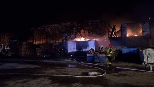 FOTO Veľký nočný požiar