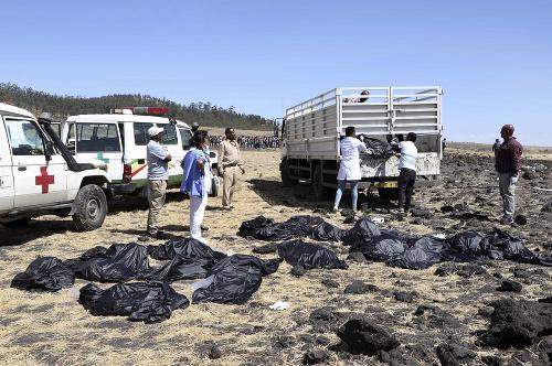 Letecké nešťastie v Etiópii: