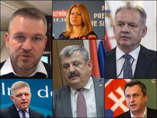 Politici a najbližší kolegovia
