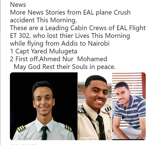 Tragédia v Etiópii.