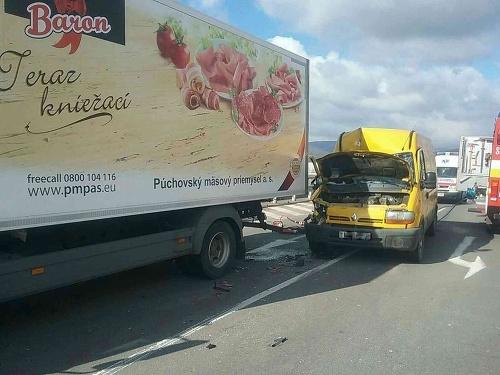 AKTUÁLNE Vážna dopravná nehoda