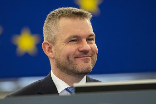 Slovenský premiér Peter Pellegrini.