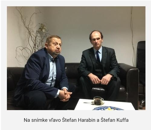Štefan Harabin a Štefan