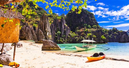 Filipíny v El Nido
